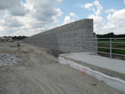 Heldenstein BAB, Bahnprojekt