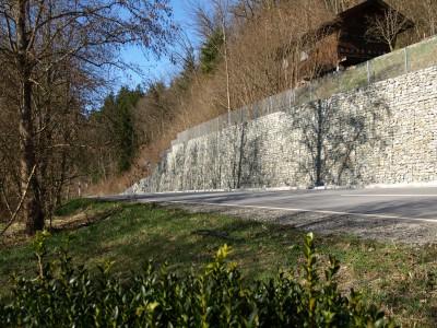 Aicha v. Wald, Böschungssicherung