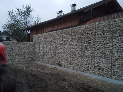 Holzkirchen A, Zaun-Gartenanlage