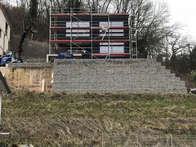 Weinheim Böschungssicherung, Erstellung einer Böschungssicherung in Weinheim