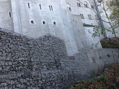 Schloß Neuschwanstein, Böschungssicherung