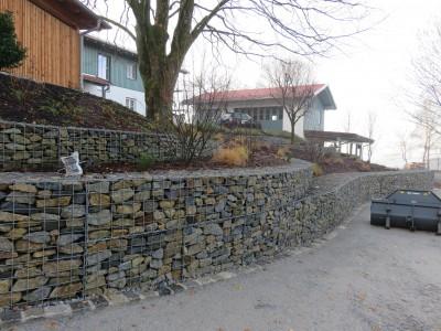 Hankhofen, Böschungssicherung, Kleineichberg Böschungssicherung