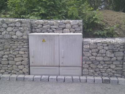 Trostberg, Böschungssicherung