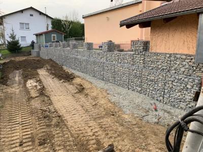 Aidenbach, Gartenmauer & Zaunanlage