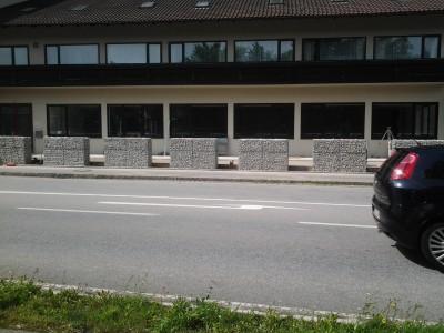 Passau R, Zaun-Gartenanlage